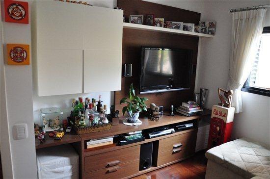 Sala De Tv Com Armario ~ São 92m², com 2 dorms, armários, sala de TV já com o armário